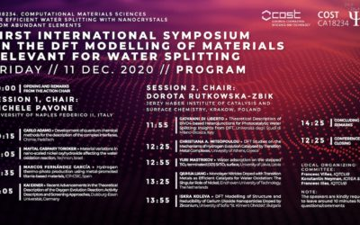 First International Symposium on the DFT Modelling of Materials Relevant for Water Splitting